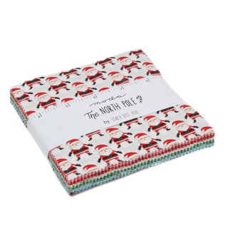 """5"""" Charm Pack Moda The North Pole  Promo Pack"""