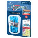Magic Pins Stecknadeln mit Griff Blau Quilting Pins...