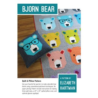 Bjorn Bear Pattern Schnittmuster Elizabeth Hartman