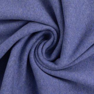 Bündchen Strickschlauch Heike Melange Blau
