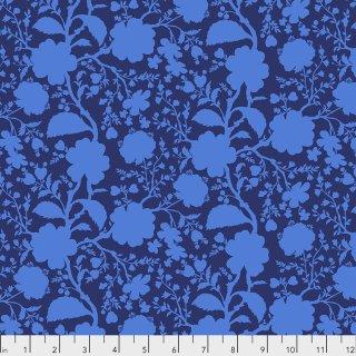 Tula Pink True Colors Wildflower  PWTP149 Anemone Blau