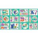 Katie´s Cats  Metallic Panel Katzen Bilder Label