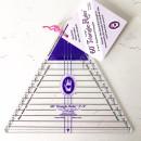 """60° Triangle Ruler 3"""" - 9 """" Marti Michell..."""