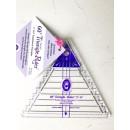"""60° Triangle Ruler 2"""" - 6"""" Marti Michell Small"""