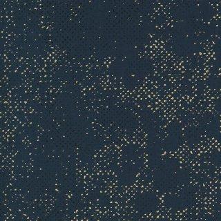 Spotted Dance in Paris Zen Chic Brigitte Heitland Navy  #54M Metallic Dots