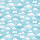 Beside the Sea Clouds Wolken Möwen Sommer Himmel Sky