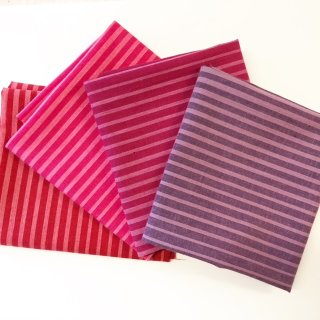 FQ Paket Ombre Wovens by V and Co. 4 Farben Pink Violett Cherry Magenta