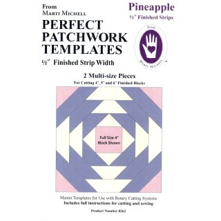 Pineapple  Lineal Set  1/2  Marti Michell 8262