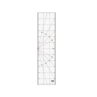 OLFA Lineal Ruler MQR-15x60 cm Inch Frosted