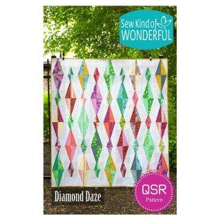 Schnittmuster Pattern Diamond Daze QSR Sew Kind of Wonderful