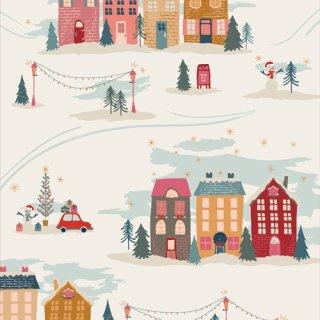 Cozy & Magical Christmastide Town Weihnachten Art Gallery