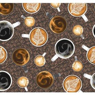 Coffee Shop Coffee Late Art Kaffeebohnen