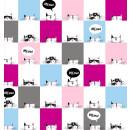 Cool Cat Club Katzen Kitty Meow Bilder Labels