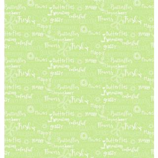 Hello Spring Green Grün Words Wörter Schrift