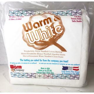 "Warm & White Full Size 90"" x 96 "" Volumenvlies  The Warm Company"