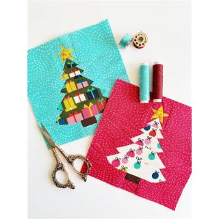 Christmas Tree Pattern Tutorial Schnittmuster FPP  by Joe June and Mae