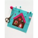 Gingerbread House with Heart Pattern Tutorial...