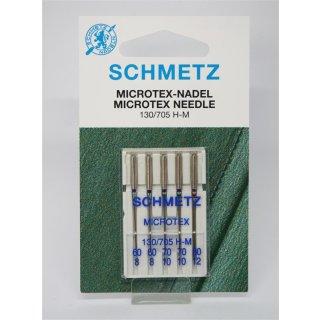 Microtex Nadel 60-80 für Haushaltsmaschinen Sortiment