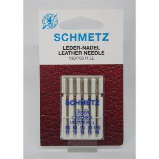 Leder-Nadel 80-100 für Haushaltsmaschinen Sortiment Schmetz