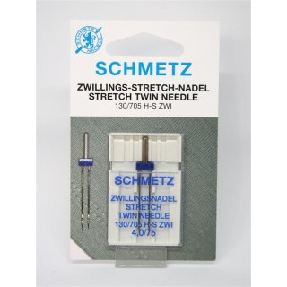 Zwillings-Stretch-Nadel 130/705 H-S ZWI 4,0/75