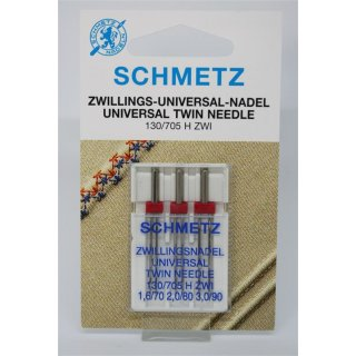 Zwillings-Universal-Nadel 130/705 H ZWI Sortiment
