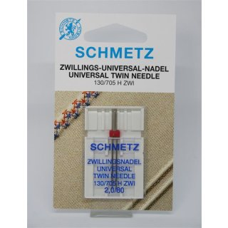 Schmetz Zwillings-Universal-Nadel 130/705 H ZWI 2,0/80