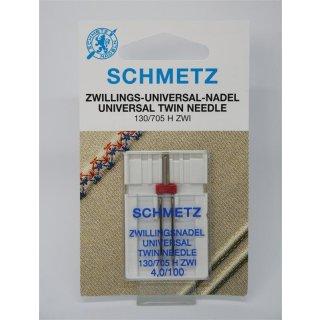 Schmetz Zwillings-Universal-Nadel 130/705 H ZWI 4,0/100