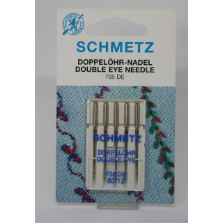 Schmetz Doppelöhr-Nadel 705 DE 80/12