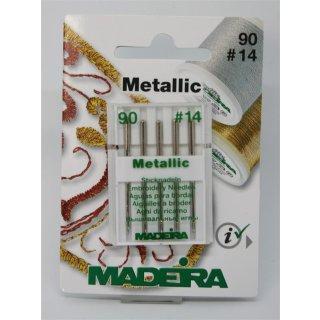 Madeira Metallic Sticknadeln 90 #14