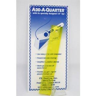 Add-A-Quarter Ruler Lineal 6 inch