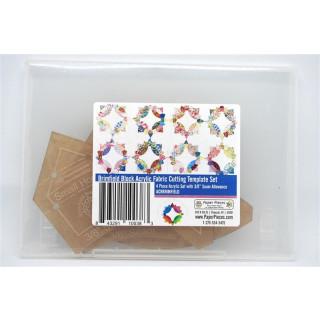 Brimfield Block Acrylic Fabric Cutting Template Set