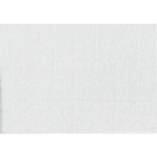 Essential Basic Leaf  White/White