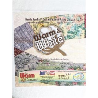 """Warm & White Volumenvlies  The Warm Company 124"""" /  ca. 3 Meter breit"""