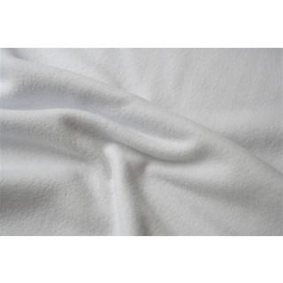 Baumwoll Fleece Weiß Anti-Pilling