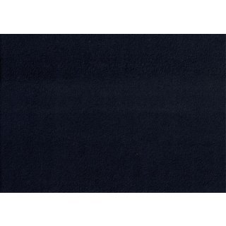 Baumwoll Fleece Navy Blau Anti-Pilling